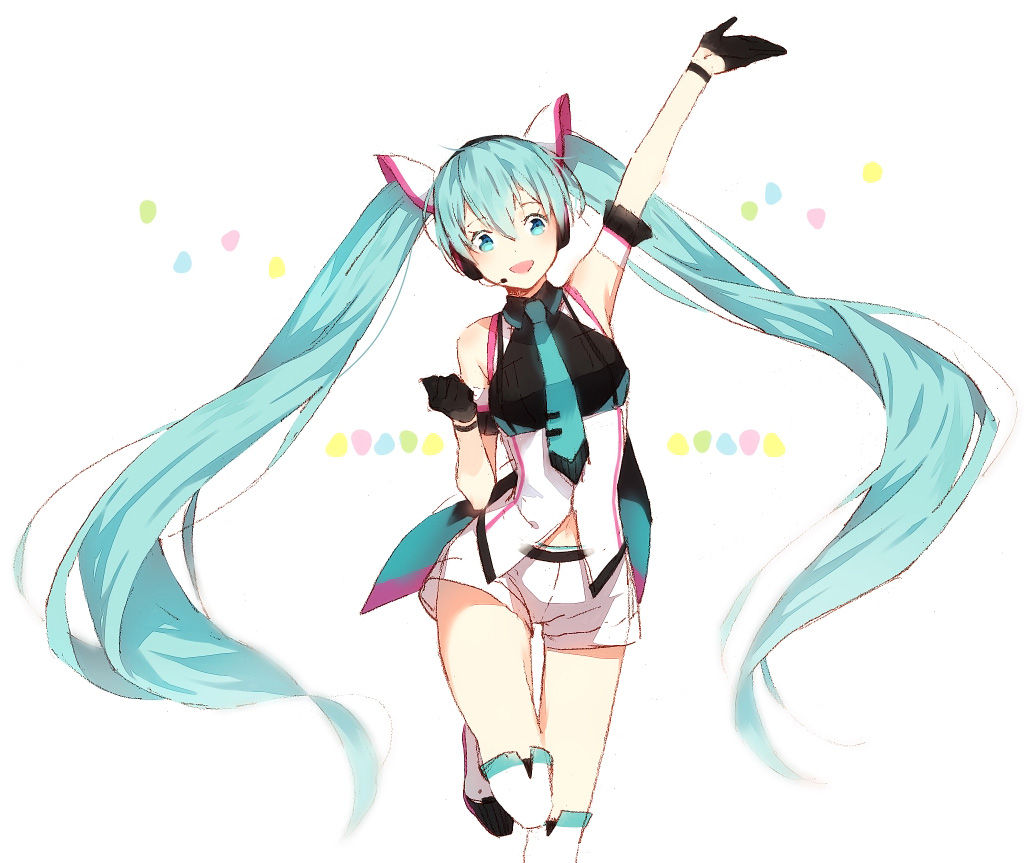 Presented by Miku!